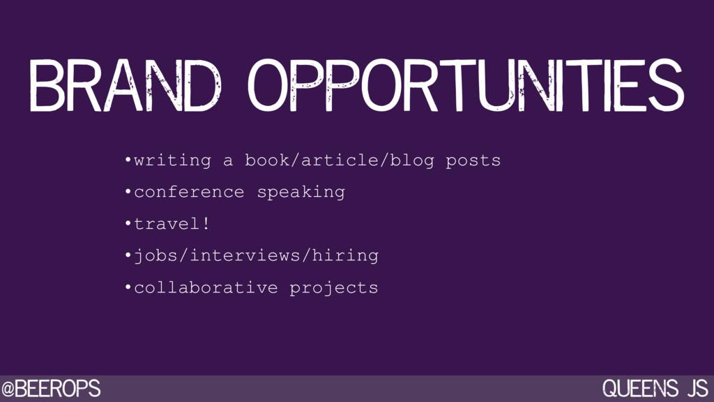 @beerops queens js •writing a book/article/blog...