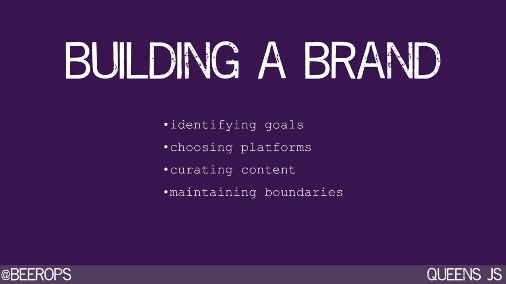 @beerops queens js building a brand •identifyin...