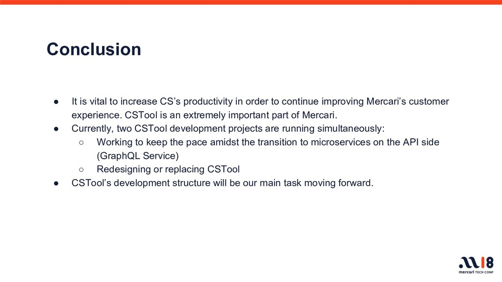 Conclusion ● It is vital to increase CS's produ...