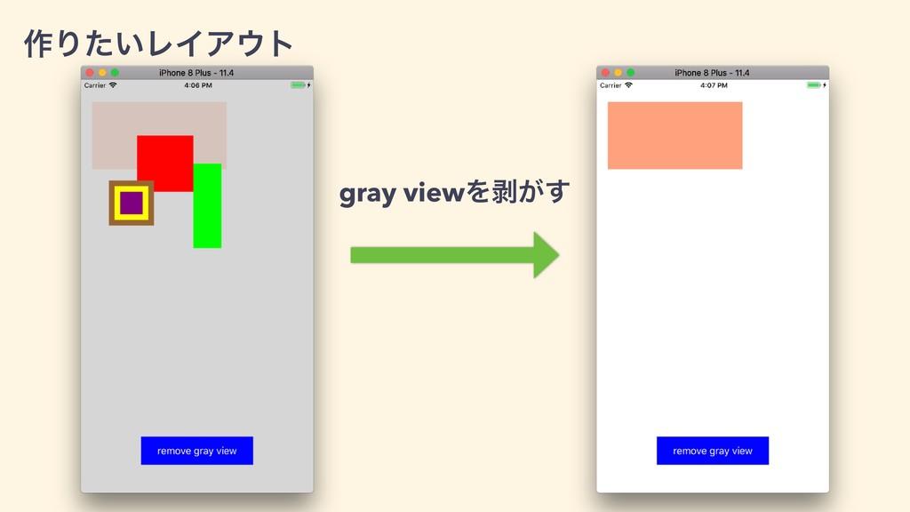 ࡞Γ͍ͨϨΠΞτ gray viewΛണ͕͢