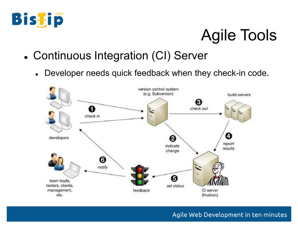 Agile Tools  Continuous Integration (CI) Serve...