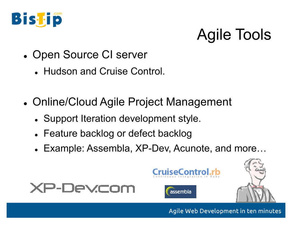 Agile Tools  Open Source CI server  Hudson an...