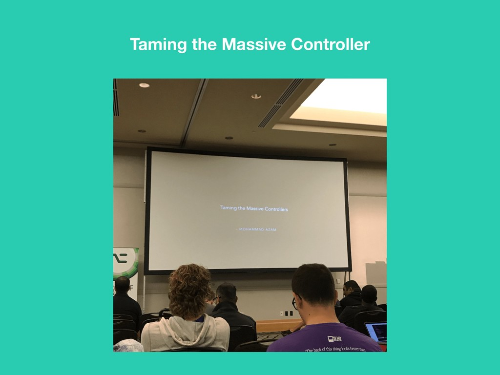 Taming the Massive Controller