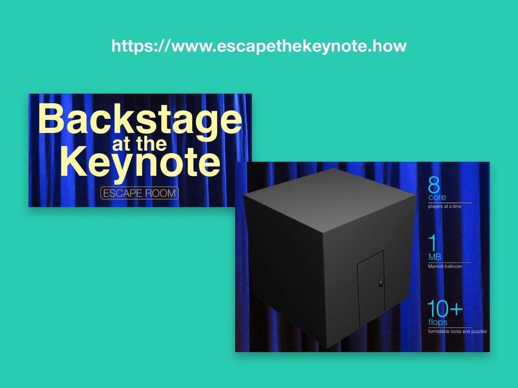 https://www.escapethekeynote.how