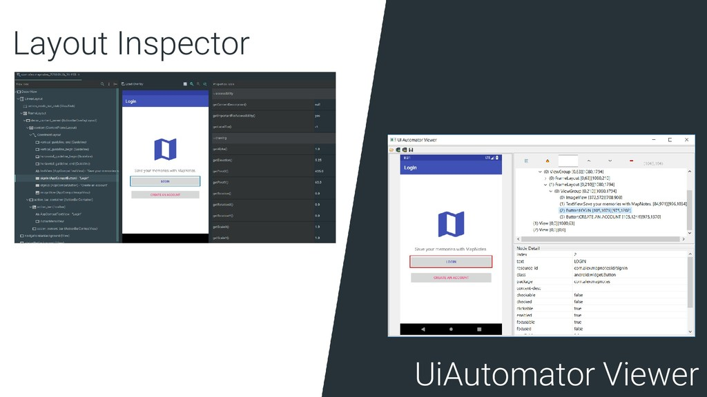 Layout Inspector UiAutomator Viewer