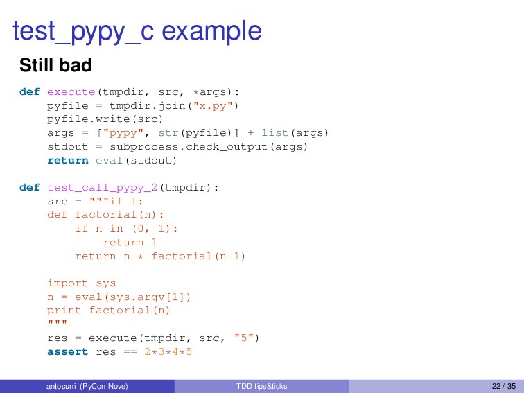 test_pypy_c example Still bad def execute(tmpdi...