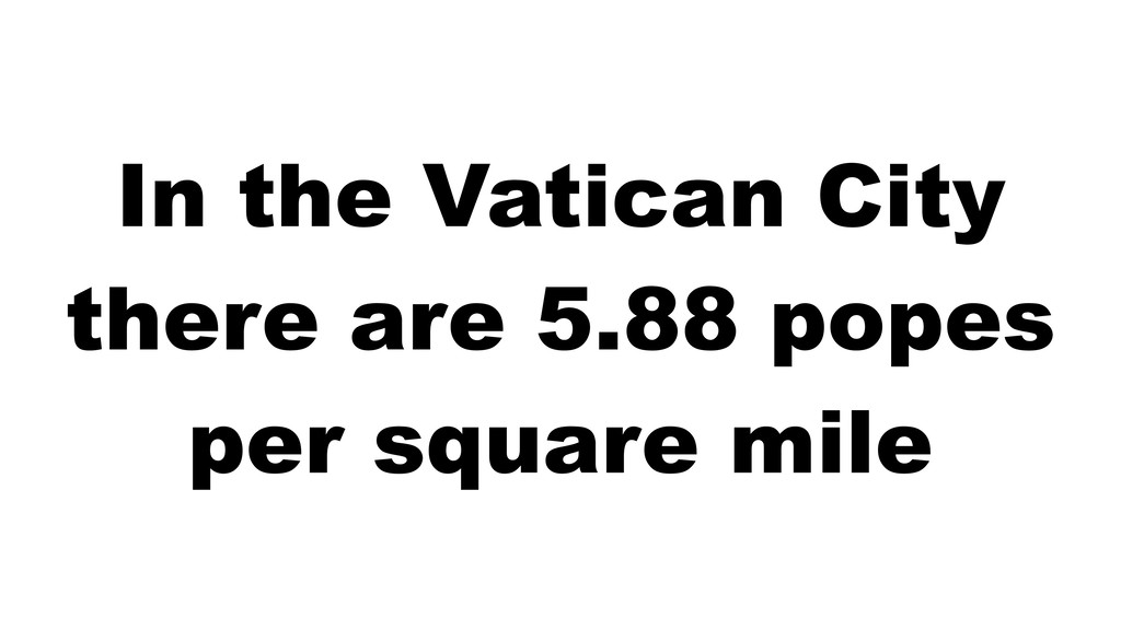 In the Vatican City