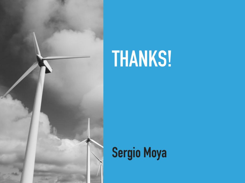 Sergio Moya THANKS!