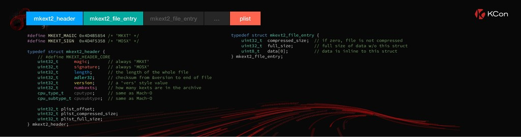 mkext2_header mkext2_file_entry plist mkext2_fi...