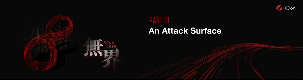 PART 01 An Attack Surface