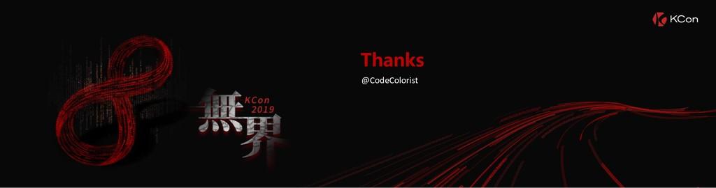 Thanks @CodeColorist