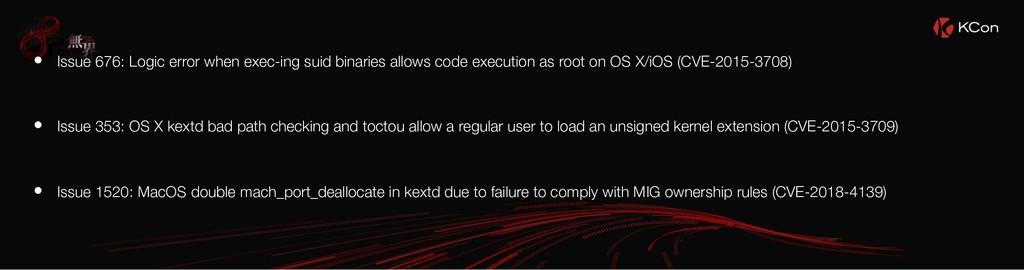 • Issue 676: Logic error when exec-ing suid bin...