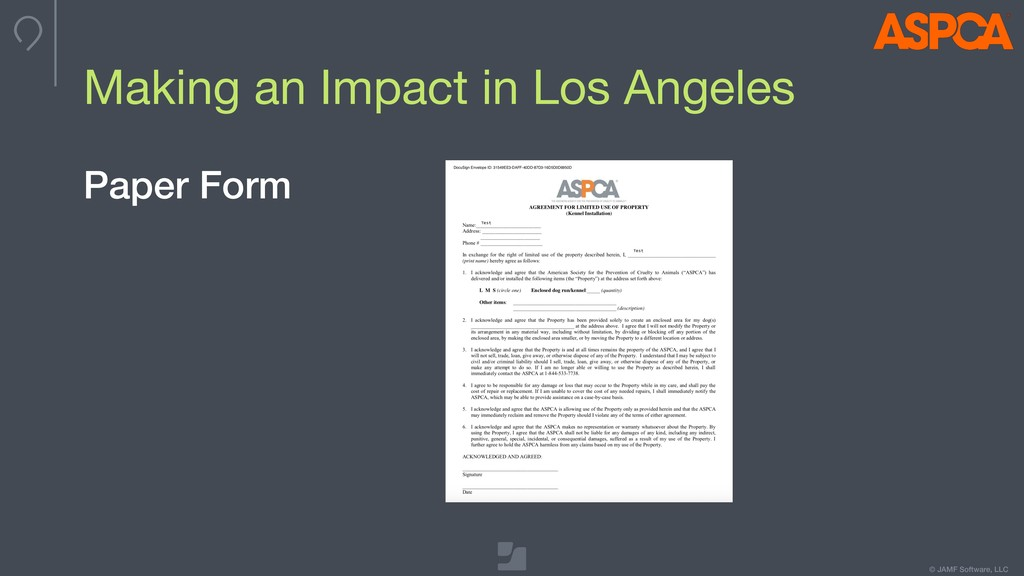 © JAMF Software, LLC Making an Impact in Los An...