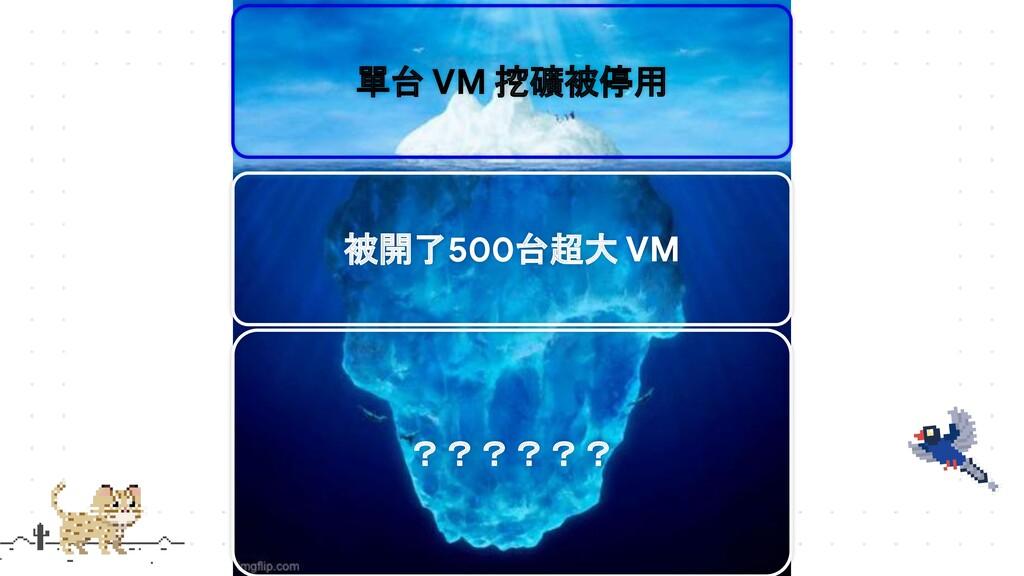 單台 VM 挖礦被停用 被開了500台超大 VM ??????