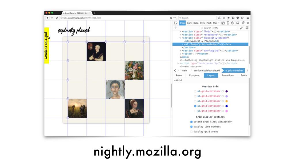 nightly.mozilla.org