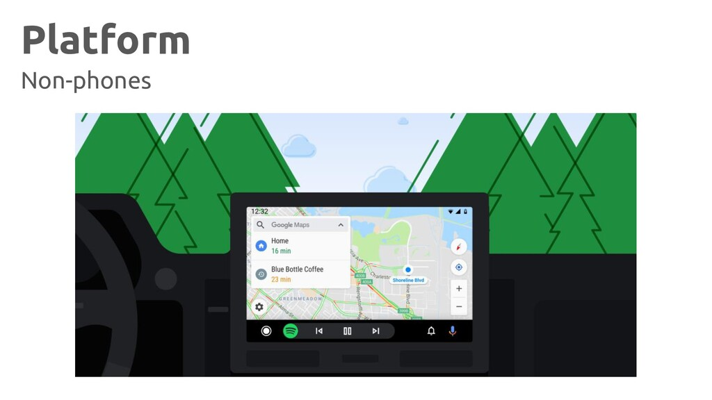 Platform Non-phones