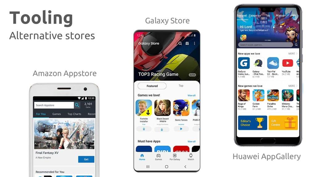 Tooling Alternative stores Amazon Appstore Gala...
