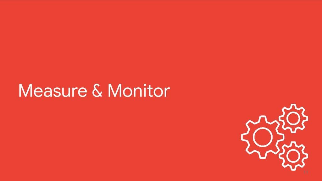 11 Measure & Monitor