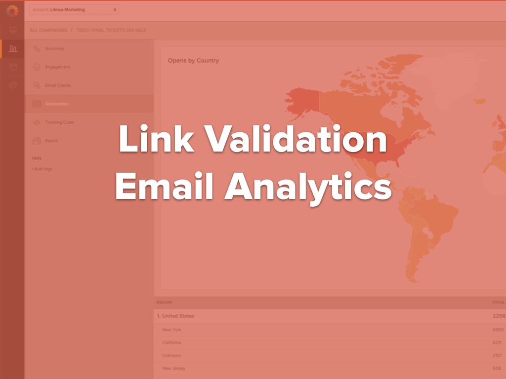 #digitalqasummit Link Validation Email Analytics