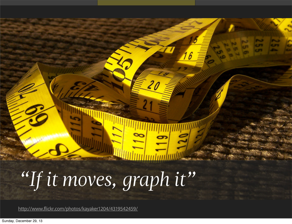 """If it moves, graph it"" http://www.flickr.com/p..."