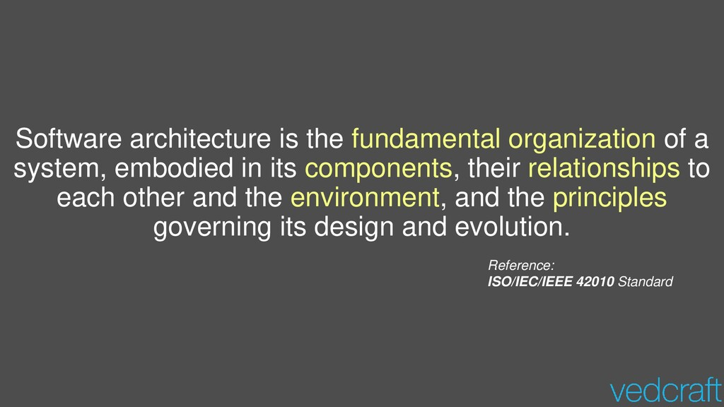 Software architecture is the fundamental organi...