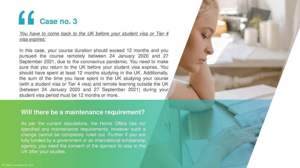 Will there be a maintenance requirement? You ha...