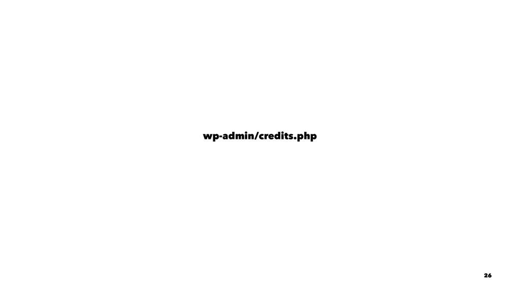 wp-admin/credits.php 26