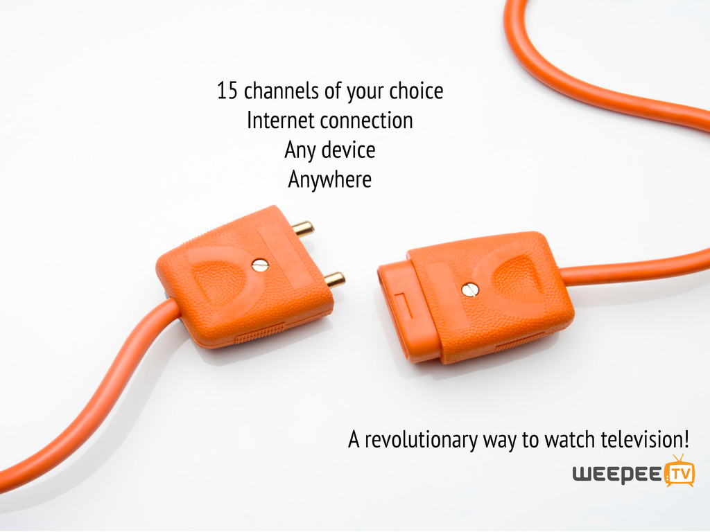 A revolutionary way to watch television! 15 cha...