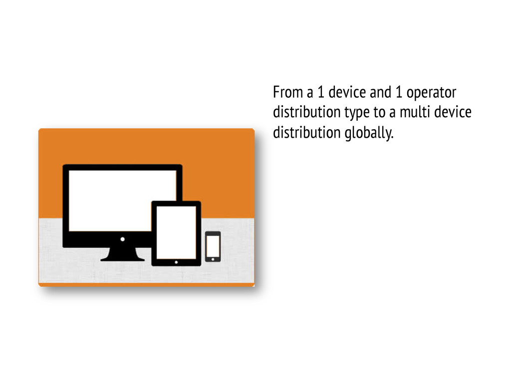 From a 1 device and 1 operator distribution typ...