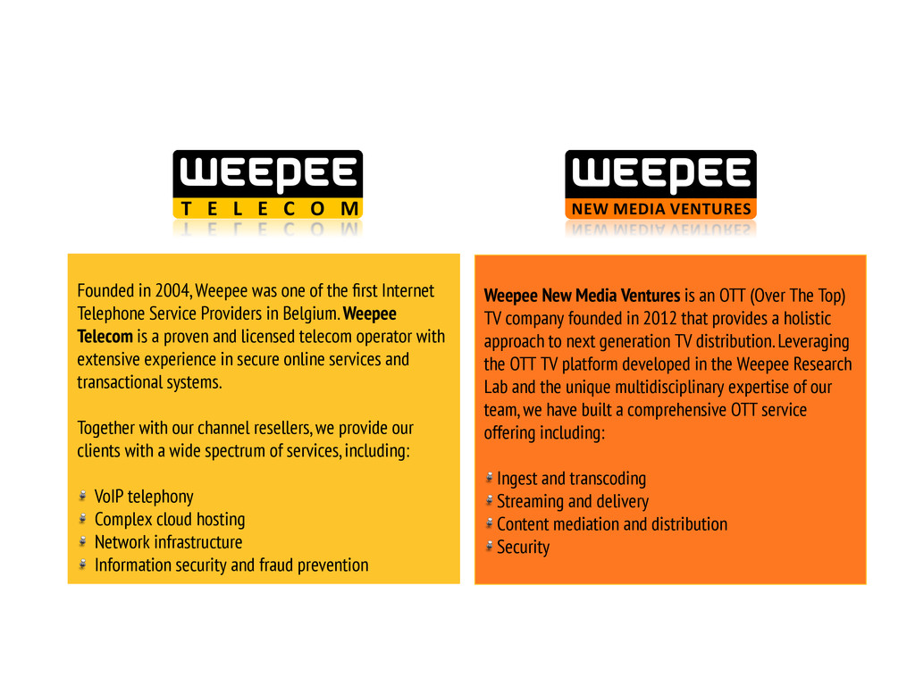 Founded in 2004, Weepee was one of the first Int...