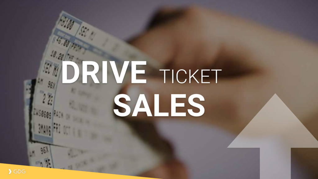 SALES TICKET DRIVE