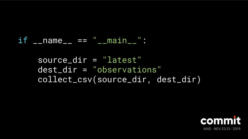 "MAD · NOV 22-23 · 2019 if __name__ == ""__main__..."
