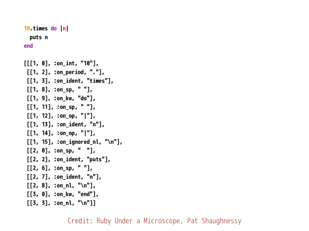 """10.times do 