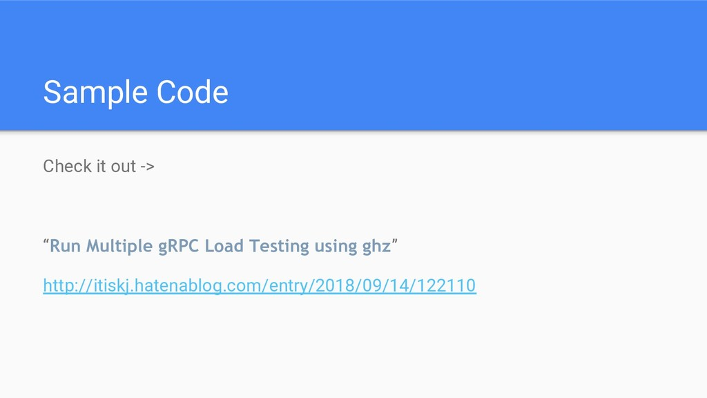 "Sample Code Check it out -> ""Run Multiple gRPC ..."