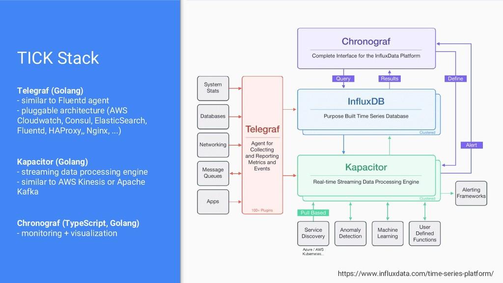 TICK Stack Telegraf (Golang) - similar to Fluen...