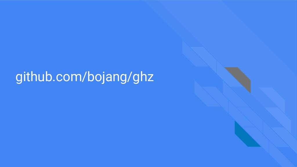 github.com/bojang/ghz