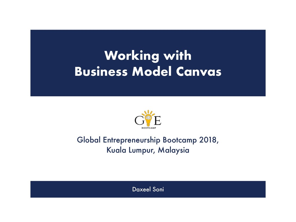 It's all about VALUE Global Entrepreneurship Bo...