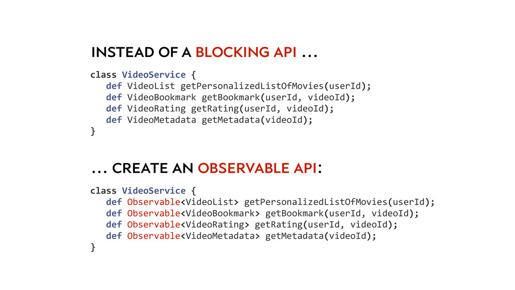 class VideoService {     def...