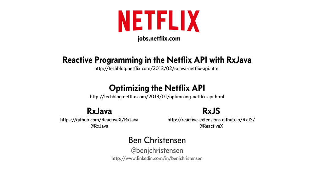! Reactive Programming in the Netflix API with R...