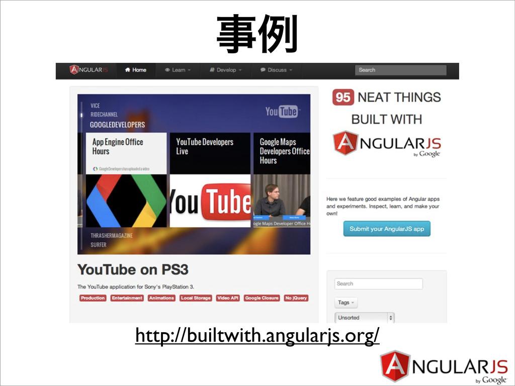 ྫ http://builtwith.angularjs.org/