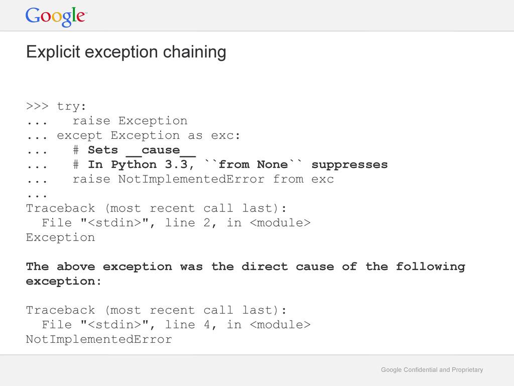 Google Confidential and Proprietary Explicit ex...