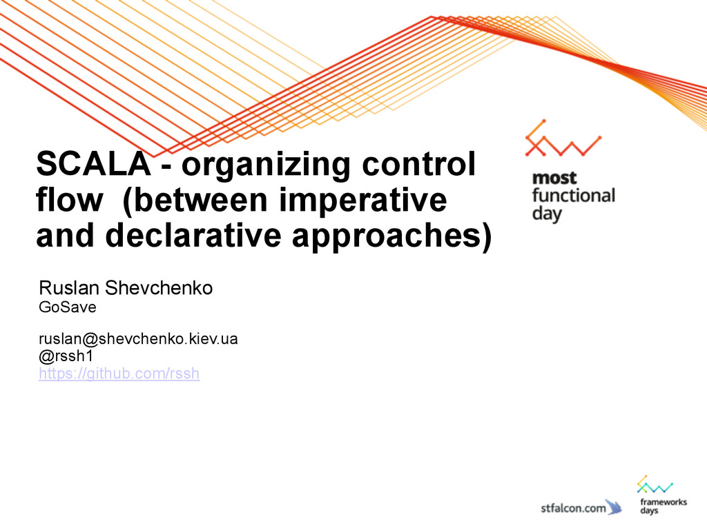 SCALA - organizing control flow (between impera...