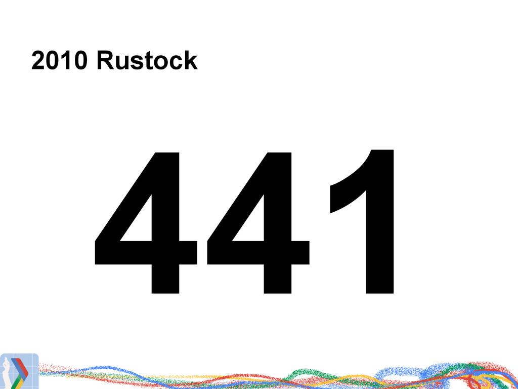 2010 Rustock 441