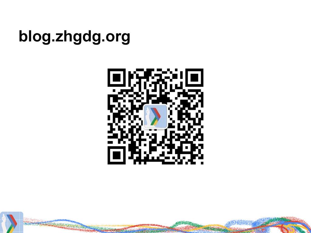 blog.zhgdg.org