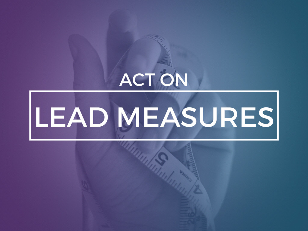 LEAD MEASURES ACT ON