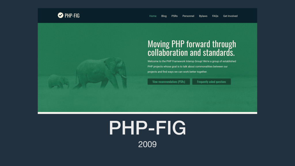 PHP-FIG 2009