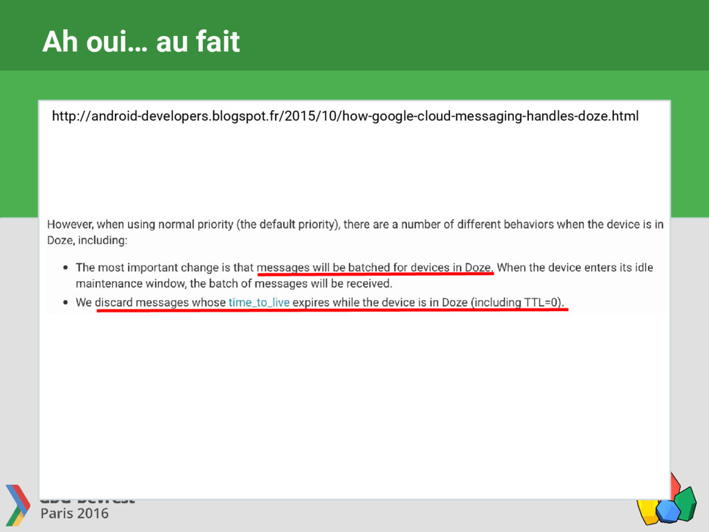 Ah oui… au fait http://android-developers.blogs...