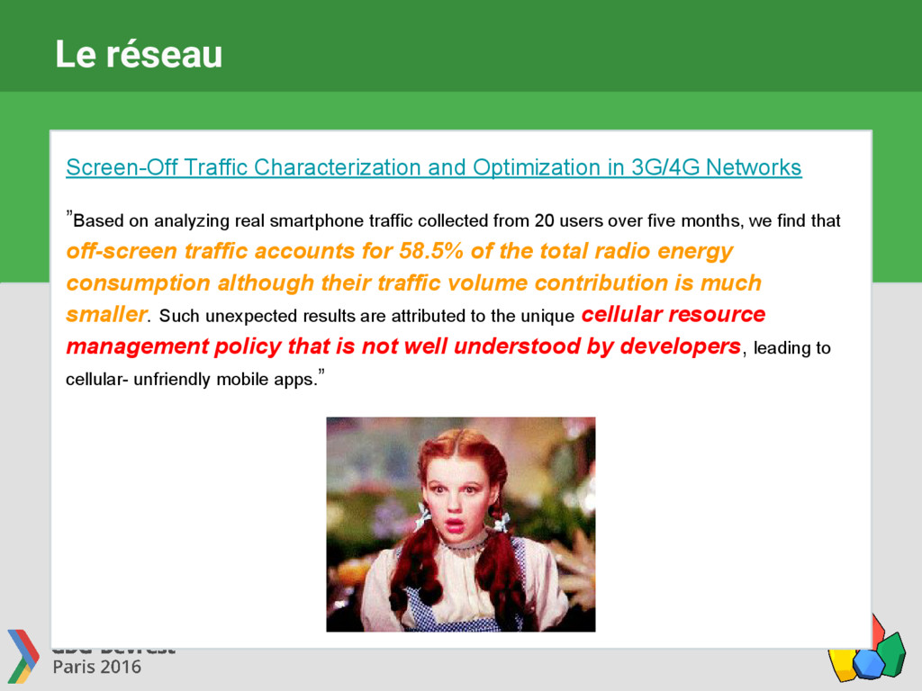 Le réseau Screen-Off Traffic Characterization a...