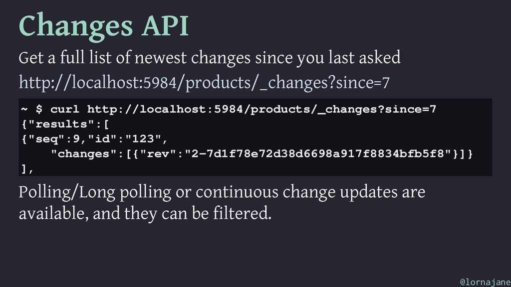 Changes API Get a full list of newest changes s...
