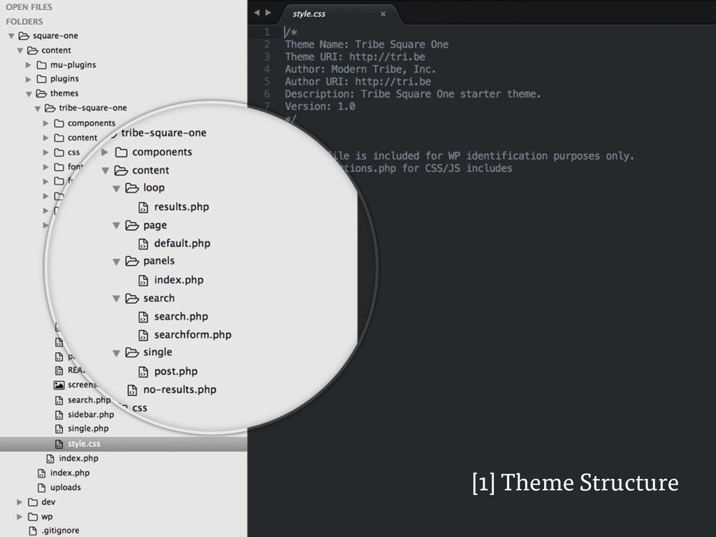 [1] Theme Structure